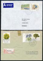 Izland 1954-1993 29 db bélyeg, köztük 10 db motívum sor + 3 db futott levél, ajánlottak és légiek