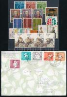 Portugália 1969-1988 18 db bélyeg 3 sorral + Azori-szigetek Madár sor + 10 db futott levél