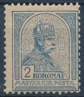 1900 Turul 2K III. vízjelállással, szép állapotban, R! (160.000)