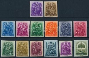 1938 Szent István vágott sor (100.000)