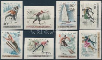 1955 Téli sport vágott sor (12.000)