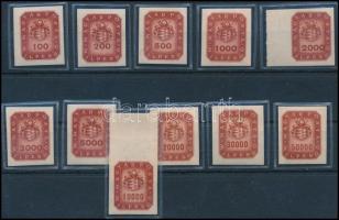 1946 Milpengős vágott sor (20.000)