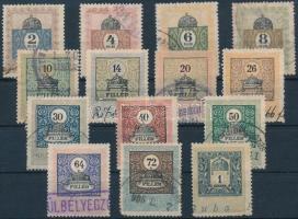 1903 14 klf okmánybélyeg