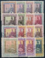 1922/1924 16 db okmánybélyeg