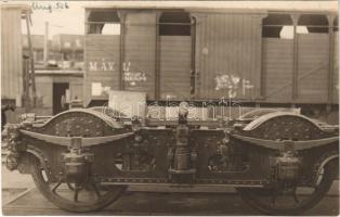 Magyar Királyi Államvasutak (MÁV) vagonok / Hungarian State Railways wagons. photo