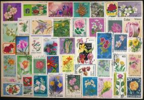 1.150 db virág motívumbélyeg 2 db A/4-es berakólapon