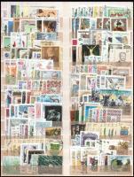 1991-1999 276 db bélyeg sorokkal, önálló bélyegekkel, 6 db blokkal, nagyalakú berakólap mindkét oldalán (31.760)