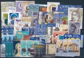 70 db blokkból vagy ívből kitépett modern bélyeg, 15.800 Ft névértékben