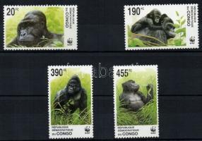 2002 WWF: Gorillák sor Mi 1708-1711