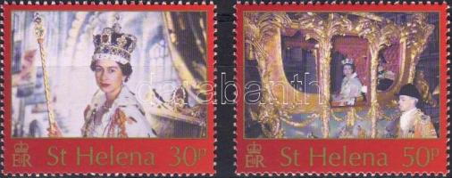 50th anniversary of queen Elisabeth II's coronation set, II. Erzsébet királynő koronázásának 50. évfordulója sor, 50. Jahrestag der Krönung von Königin Elisabeth II. Satz