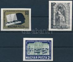 1961 Liszt Ferenc I. vágott sor (5.000) (1Ft törés / fold)
