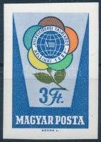 1962 Rózsák I. 3Ft vágott bélyeg