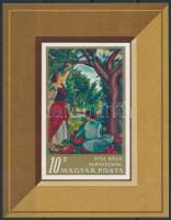 1967 Festmény III. vágott blokk (3.500)