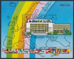 1983 Európai Biztonsági és Együttműködési Értekezlet VII. vágott blokk (4.000)
