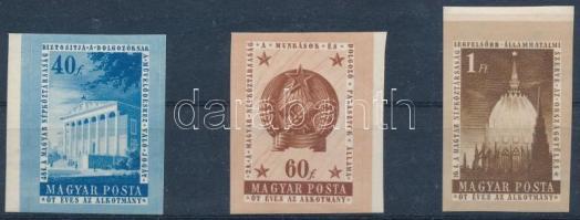 1954 Alkotmány II. vágott sor (12.000)