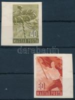 1954 Május 1. V. vágott ívszéli sor (8.000)