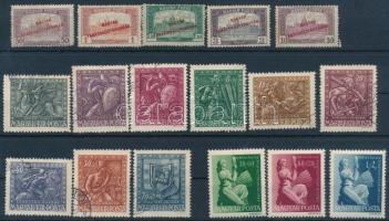 17 db régi bélyeg