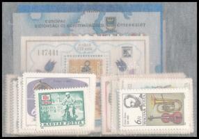 1985 A teljes évfolyam bélyegei és blokkjai, tasakban