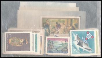 1968 A teljes évfolyam bélyegei és blokkjai, tasakban