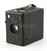 Zeiss Ikon Box Tengor 6x9 cm rollfilmes kamera, Goerz Frontar objektívvel, kopottas