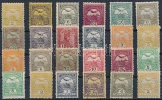 24 db Turul bélyeg
