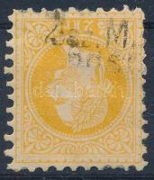 1867 2kr mozgóposta bélyegzéssel