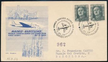 Spanyolország 1954
