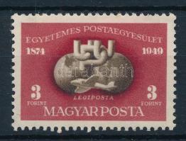 1950 UPU blokkból kitépett bélyeg (10.000)