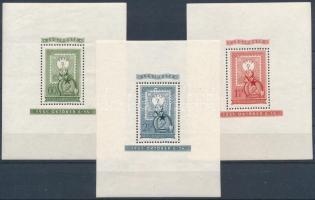1951 80 éves a magyar bélyeg blokk sor (51.000)