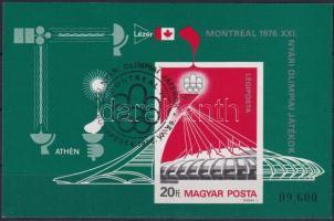 1973 Nyári olimpia vágott blokk (7.000)