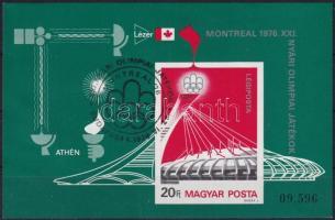 1976 Nyári olimpia vágott blokk (7.000)