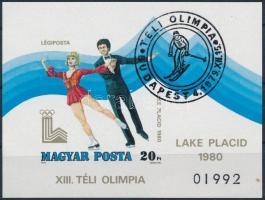 1979 Téli olimpia vágott blokk (5.000)