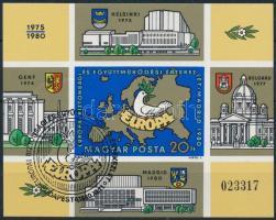 1980 Madrid vágott blokk (6.000)