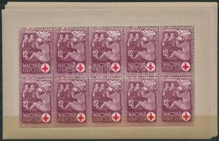 1942 Vöröskereszt I. kisívsor (20.000)