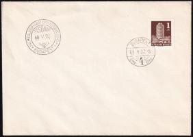 1969 Körszálló vágott FDC (3.000)