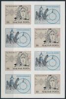 1977 Isaac Newton vágott kisív (5.000)