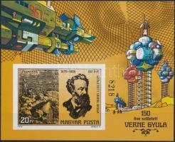 1978 Fantasztikus az űrkutatásban - Verne vágott blokk (5.000)