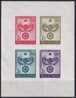 1965 Együttműködés vágott blokk (5.500)