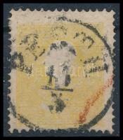 1858 2kr sárga PESTH