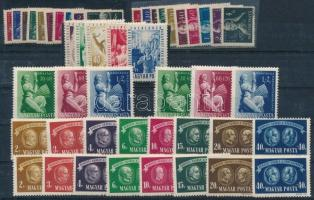 1945-1949 7 db teljes sor (4 klf) (15.700)