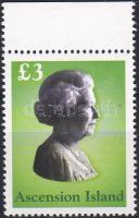 Elisabeth II margin stamp, II. Erzsébet ívszéli bélyeg, Elisabeth II. Marke mit Rand