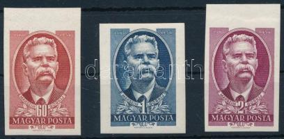 1951 Maxim Gorkij vágott sor (7.000)
