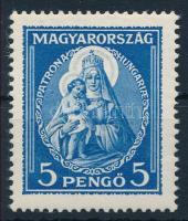 1932 Nagy Madonna 5P szép falcos (*11.250)