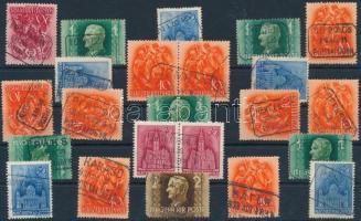 21 klf postaügynökségi bélyegzés