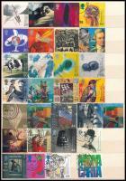 Nagy-Britannia az ezredfordulóra kiadott összes bélyege, 2 db A/4-es berakólap minden oldalán