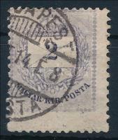 1881 2kr II. magasra fogazott bélyeg