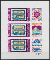 1977 Bélyegbemutatók vágott kisív (4.000)