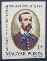 1973 Madách Imre vágott bélyeg