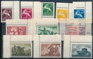 1917/1941 Cserkész ívsarki sor + Katona ívsarki sor + Margitsziget ívsarki sor (4.900)