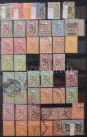 Finnország, Ausztrál és angol gyarmati bélyegek tétel 10 lapos közepes berakóban
